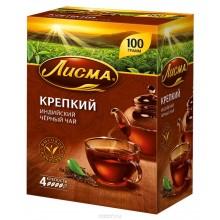 Чай Лисма  черный  Крепкий   100г листовой/42