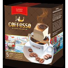 "Кофе ""Сoffesso""   5п/9г в сашетах  ""Classico Italiano"" мален./12"