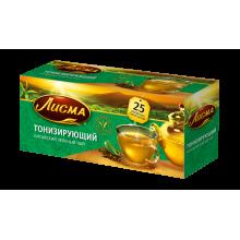 Чай Лисма зеленый  Тонизирующий 25п