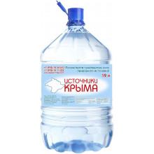 Источники Крыма в одноразовом бутыле 19 литров